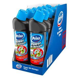 Priva WC-Reiniger mit Chlor 750 ml, 12er Pack - Bild 1