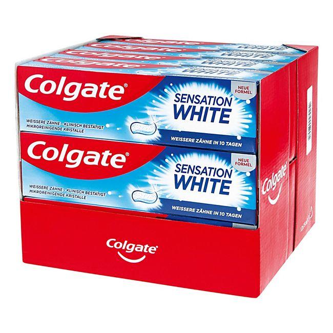 Colgate Sensation White Zahncreme 75 ml, 12er Pack - Bild 1