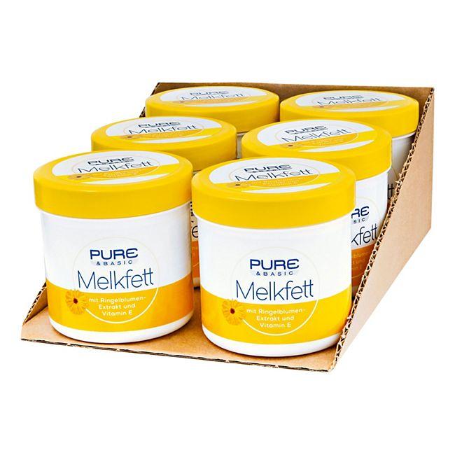 Pure & Basic Melkfett 250 ml, 6er Pack - Bild 1