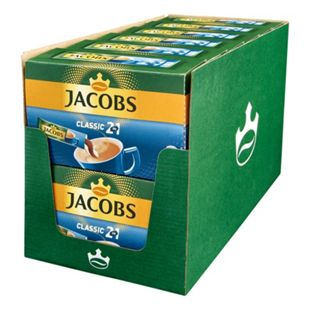 Jacobs Kaffeesticks 2in1 140 g, 12er Pack - Bild 1