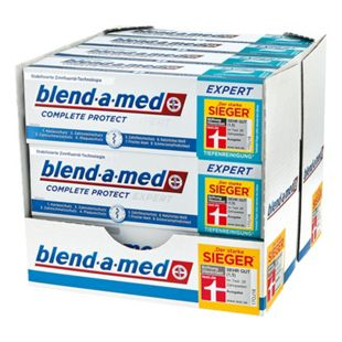 blend-a-med Complete Protect Expert Tiefenreinigung Zahncreme 75 ml, 12er Pack - Bild 1