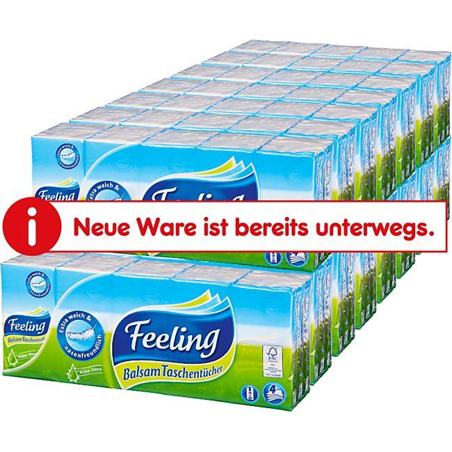 Feeling Balsam Taschentücher 150 Stück, 15er Pack - Bild 1