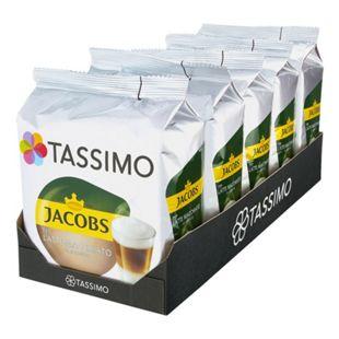 Jacobs Tassimo Latte Macchiato 16 Kapseln 264 g, 5er Pack - Bild 1