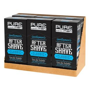 Pure & Basic Aftershave Classic 100 ml, 6er Pack - Bild 1
