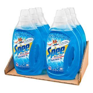 Spee Vollwaschmittel Aktiv Gel 20 Waschladungen, 6er Pack - Bild 1