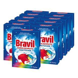 Bravil Farbfangtücher 24 Stück, 11er Pack - Bild 1