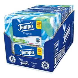 Tempo Duo-Box Original 160 Blatt, 6er Pack - Bild 1