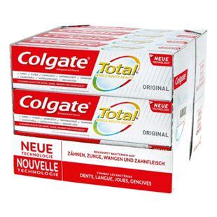 Colgate Zahncreme Total Original 75 ml, 12er Pack - Bild 1
