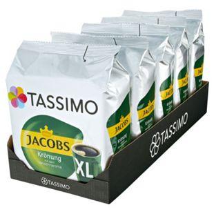 Jacobs Tassimo Jacobs Krönung XL 16 Kapseln 144 g, 5er Pack - Bild 1