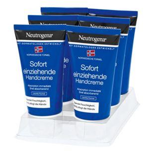 Neutrogena Sofort Einziehende Handcreme 75 ml, 6er Pack - Bild 1