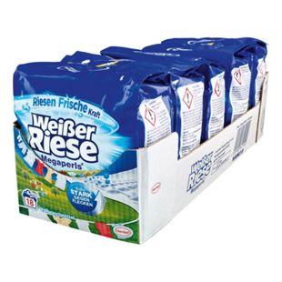 Weißer Riese Vollwaschmittel Megaperls 18 WL, 5er Pack - Bild 1