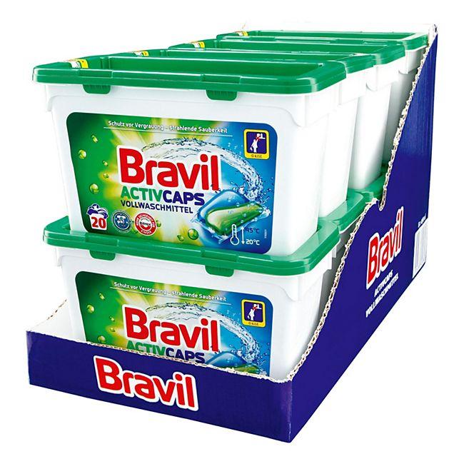Bravil Caps Vollwaschmittel 20 WL, 8er Pack - Bild 1