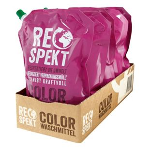 Respekt Colorwaschmittel 30 WL, 5er Pack - Bild 1