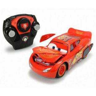 Dickie Toys  RC Cars 3 Lightning Mc Queen Crash Car, 1.24 - Bild 1