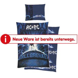 AC/DC Wende-Bettwäsche, verschiedene Designs - Ballbreaker, blau - Bild 1