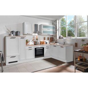 Menke Küchen Landhaus Eckküche White Premium 310 x 170 cm, inkl. Geschirrspüler - Bild 1