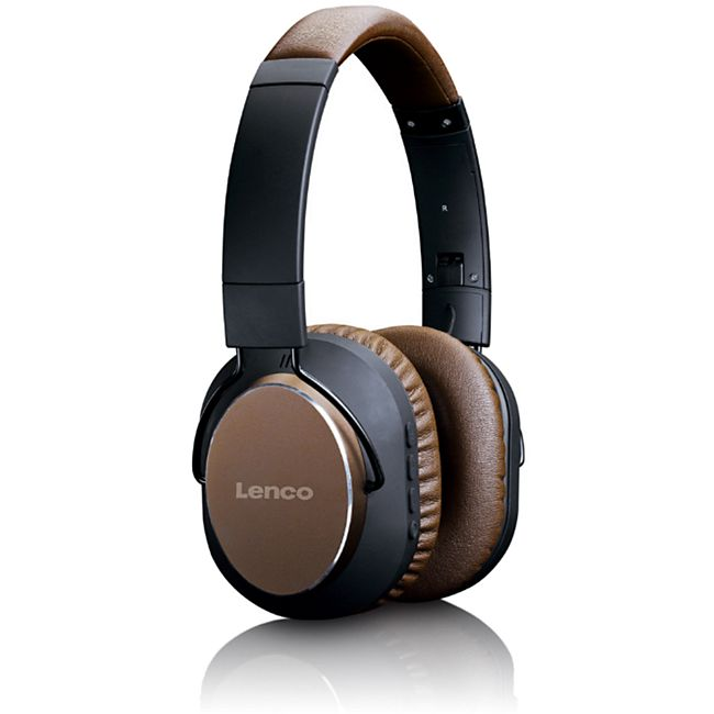 Lenco HPB-730BN Bluetooth Headphone mit Active Noise Cancelling (ANC) - Bild 1