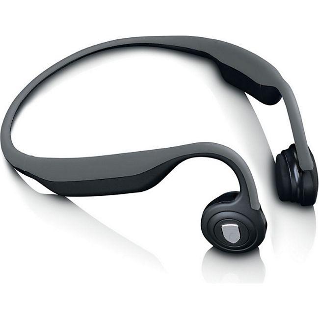 Lenco HBC-200GY Bone Conduction Bluetooth Headphone - Bild 1