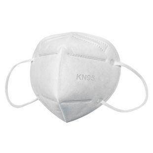 Mund-Nasen-Maske KN95 10er-Set weiß - Bild 1