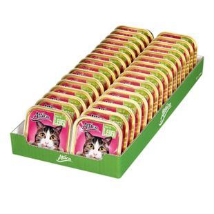Attica Katzenfutter Ragout Leber 100 g, 32er Pack - Bild 1