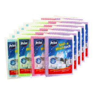 Priva Spül- und Wischtuch 10 Stück, 22er Pack - Bild 1