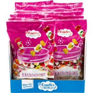 Bild für Candies World Kaubonbons 500 g, 12er Pack