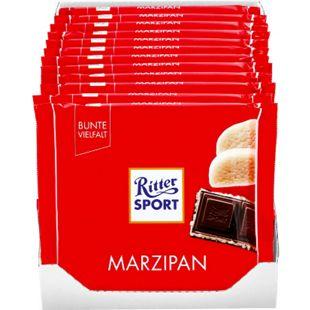 Ritter Sport Marzipan Schokolade 100 g, 12er Pack - Bild 1