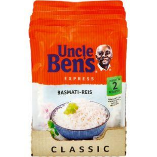 Uncle Bens Expressreis Basmati 250 g, 6er Pack - Bild 1