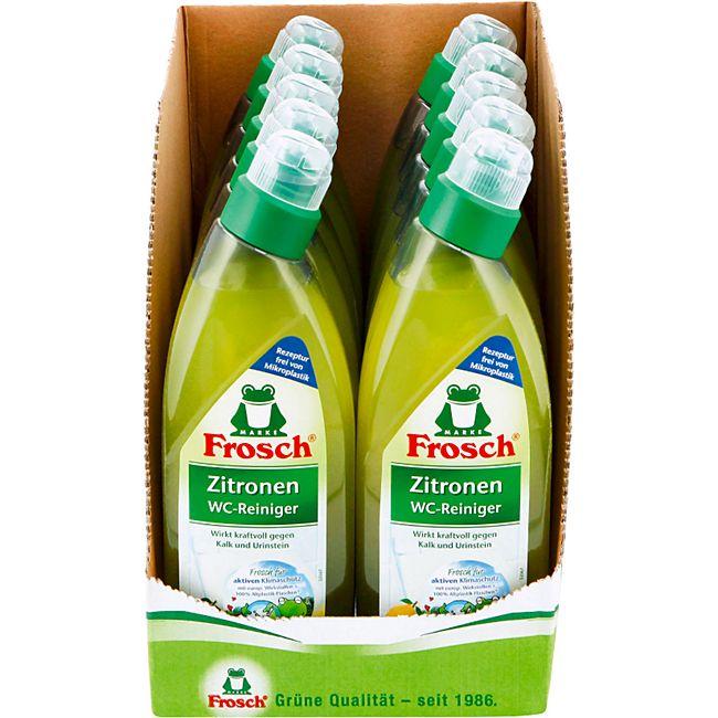 Frosch WC-Reiniger Zitrone 750 ml, 10er Pack - Bild 1