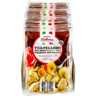 Mondo Italiano Tortelloni Mortadella und Schinken 250 g, 12er Pack - Bild 1