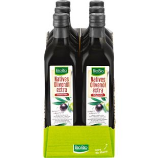 BioBio Natives Olivenöl Extra 750 ml, 6er Pack - Bild 1