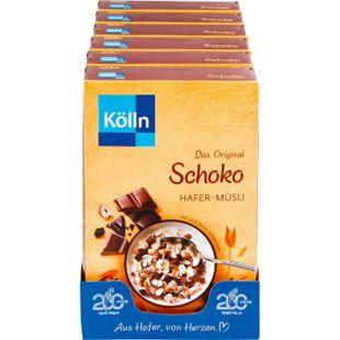 Kölln Schoko Müsli 600 g, 6er Pack - Bild 1