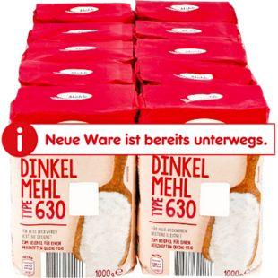 Kornmühle Dinkelmehl T630 1 kg, 10er Pack - Bild 1