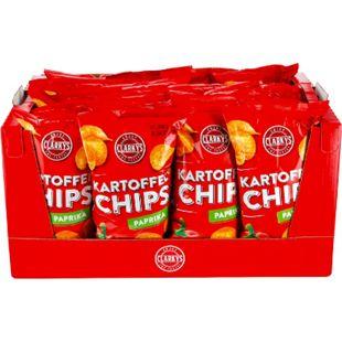 Clarky's Paprika Chips 200 g, 20er Pack - Bild 1