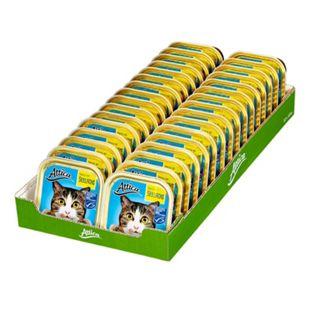 Attica Katzenfutter MSC Seelachs 100 g, 32er Pack - Bild 1
