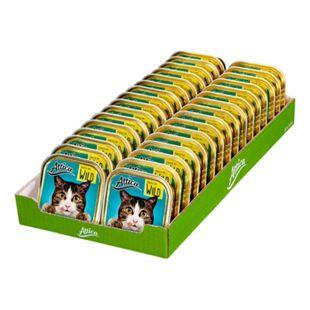 Attica Katzenfutter Pastete mit Wild 100 g, 32er Pack - Bild 1