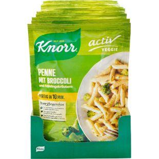 Knorr Veggie Penne mit Broccoli 146 g, 10er Pack - Bild 1
