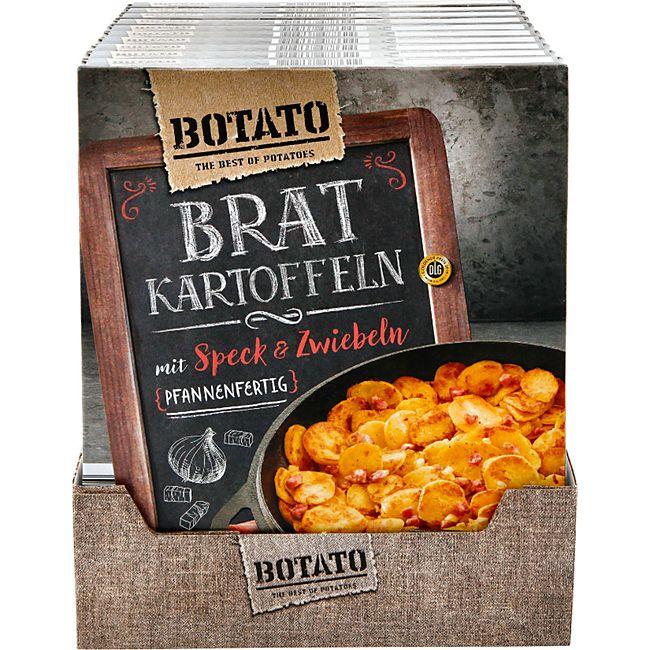 Botato Bratkartoffeln mit Speck & Zwiebeln 400 g, 10er Pack - Bild 1