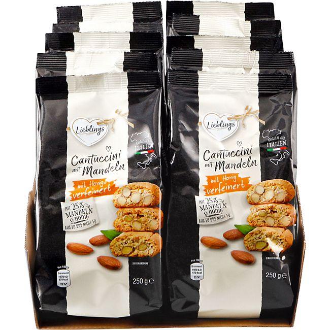 Lieblings Cantuccini mit Mandel 250 g, 10er Pack - Bild 1