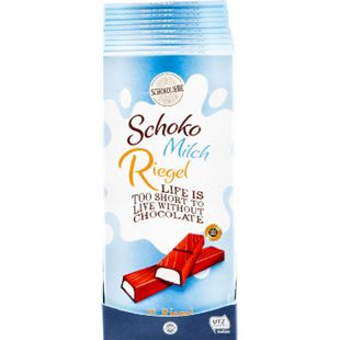 Bild für Schokoliebe Schoko-Milch-Riegel 200 g, 10er Pack