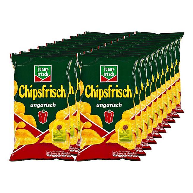 funny frisch Chipsfrisch Ungarisch 175 g, 20er Pack - Bild 1
