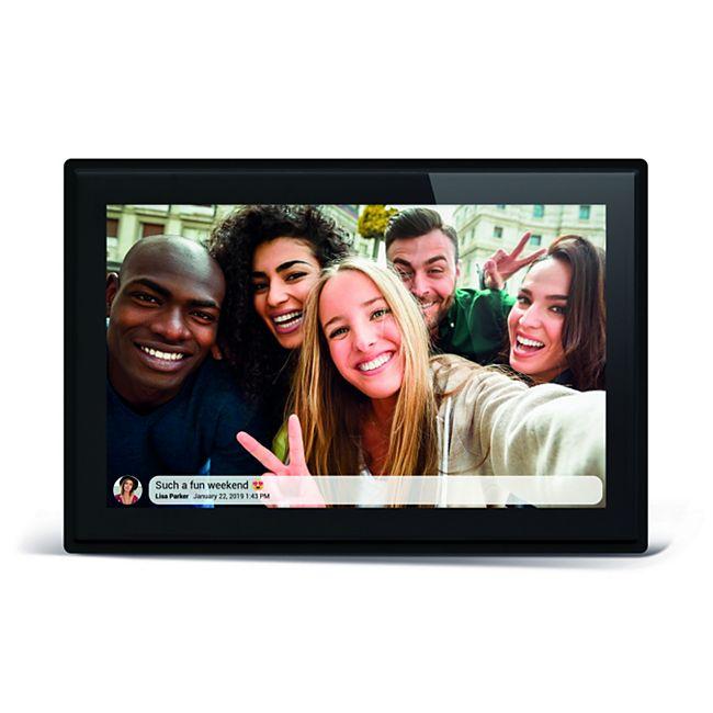 """BRAUN DigiFrame 1018 WiFi, schwarz (10,1"""" IPS Touch Display mit LED-Backlight) - Bild 1"""