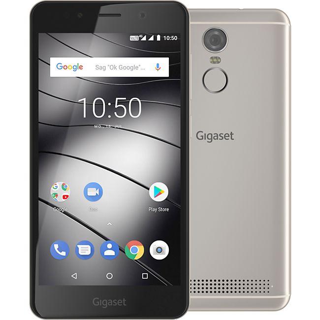 Gigaset Smartphone GS180 Dual-SIM, champagner - Bild 1