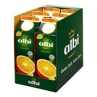 albi Orangensaft 1 Liter, 6er Pack - Bild 1