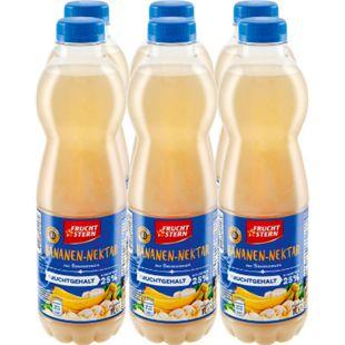 Fruchtstern Bananen-Nektar 1 Liter, 6er Pack - Bild 1