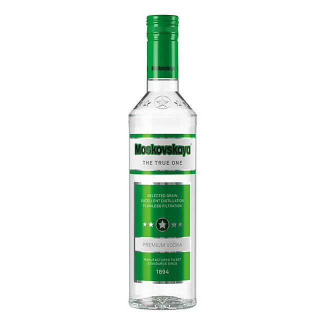 Moskovskaja russischer Wodka 38,0 % vol 0,5 Liter - Bild 1