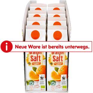 BioBio Orangensaft 1 Liter, 8er Pack - Bild 1