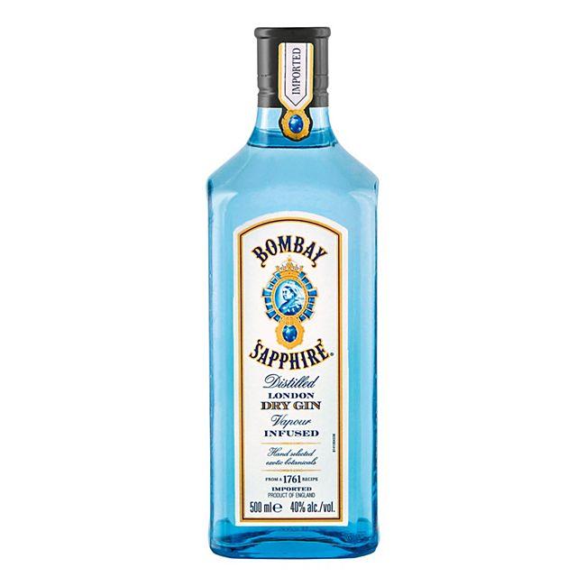 Bombay Sapphire Gin 40,0 % vol 0,5 Liter - Bild 1