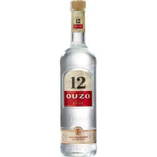 Ouzo 12 38,0 % vol 0,7 Liter - Bild 1