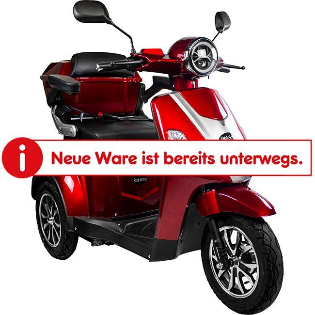 Rolektro E-Trike 25, V.3, Rot - Bild 1